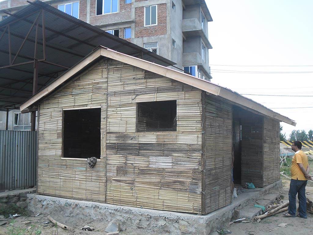 Himalayan bamboo pvt ltd pre fabricated bamboo and for Fabricated home